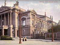 Das Gebäude der Staatsoper