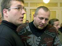 David Pěcha (vlevo) se svědkem Ludvíkem Zifčákem, foto: ČTK