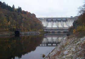 Le barrage de Slapy, photo: ŠJů, Creative Commons 3.0
