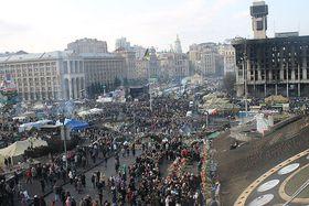 События на Майдане, Фото: A1, CCO