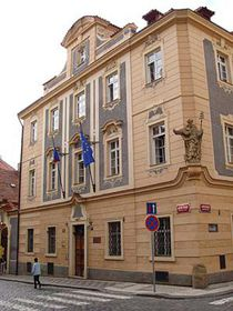Lausitzer Seminar auf der Prager Kleinseite (Foto: Patrick-Emil Zoerner)
