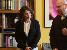 Жанна Немцова и Марек Пржигода, Фото: Эва Туречкова, Чешское радио - Радио Прага