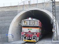 Le nouveau tunnel ferroviaire de Ejpovice, non loin de Plzeň, photo: ČTK / Miroslav Chaloupka