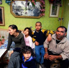 Romany family evicted from Vsetin, photo: CTK