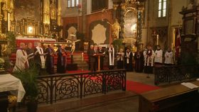 La cérémonie œcuménique de réconciliation, photo: František Jemelka / ČBK