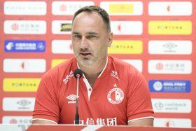 El entrenador del Slavia, Jidřich Trpišovský, foto: Ondřej Deml/ČTK