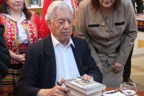 Mario Vargas Llosa, foto: Martina Schneibergová