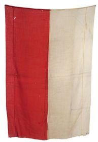 Vlajka zemí Koruny české použitá vroce 1912, foto: archiv VHÚ