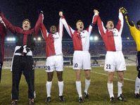 Команда «Славия Прага» радуется (Фото: ЧТК)
