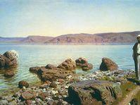 На Тивериадском (Генисаретском) озере, 1888