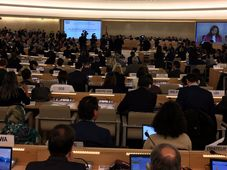 Session of the UN Human Rights Council in Geneva, photo: archive of Czech Foreign Ministry