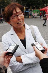 Jaroslava Nováková, foto: archivo de Radio Praga