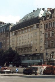 Melantrich building on Wenceslas Square, photo: Martin Šanda, Wikimedia Commons, CC BY-SA 3.0