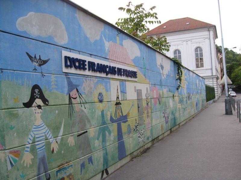 Lycée français de Prague, photo: Denisa Tomanová