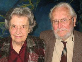 Jaroslava and Čestmír Sklenička, photo: author