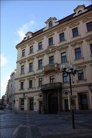 Здание на месте дома, в котором родился Франц Кафка, фото: Штепанка Будкова