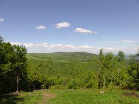 Krušné hory, pohled zLiščího vrchu, foto: Miloš Turek