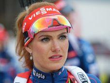 Gabriela Koukalová (Foto: ČTK / Vít Černý)