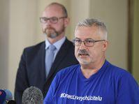 Robert Plaga, František Dobšík, photo: ČTK/Ondřej Deml