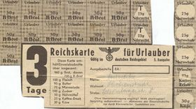 Ration cards in Germany, photo: dontworry, Wikimedia Commons, Public Domain