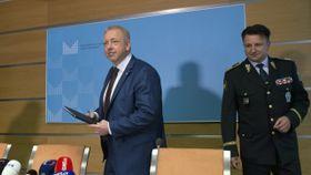 Milan Chovanec, Tomáš Tuhý, photo: CTK