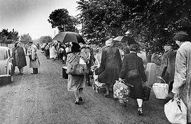 Éxodo de los ciudadanos checoslovacos de nacionalidad alemana, 1945