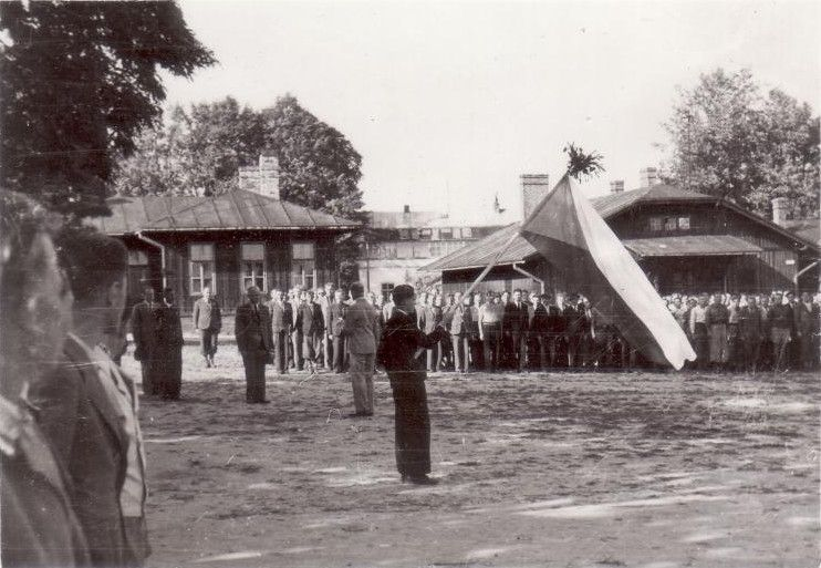 Бойцы чехословацкого подразделения в лагере в Броновице-Мале под Краковом летом 1939 года, фото: VHÚ