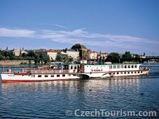 'Vltava' steamer, photo: CzechTourism