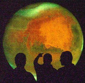 El planeta Marte se ayer acercó a la Tierra a la menor distancia en los últimos 60 mil años, foto: CTK