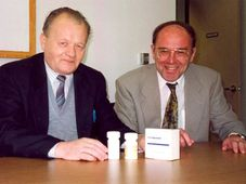 Antonín Holý avec Erik de Clercq, photo: Archives d'Erik de Clercq