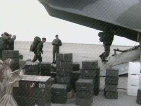 Los soldados checos fueron los primeros en llegar a Macedonia como miembros de la Misión  Cosecha Esencial de la OTAN