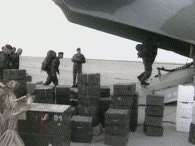 Czech NATO troops in Macedonia