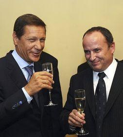 Alexander Zukov et Vladimír Tošovský, photo: CTK