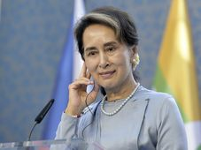 Aung San Suu Kyi, photo: ČTK/Michaela Říhová
