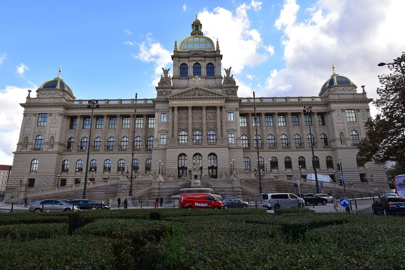Museo Nacional de Praga, foto: Ondřej Tomšů