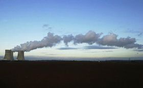 Central nuclear de Temelín, Foto: CTK