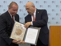Gary Koren y David Vochoč (a la izquierda), foto: ČTK