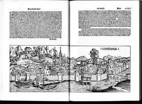 Констанц на гравюре XIII века
