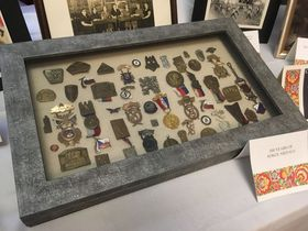 A century of Sokol medals, photo: Ian Willoughby