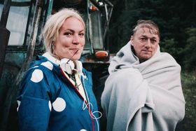 Natáčení filmu 'Honza má pech' - Rena Dumont, foto: archiv Reny Dumont