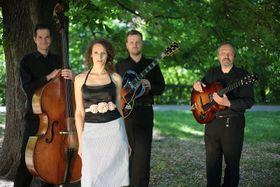 Foto: David Tesař, presentación oficial del Petra Ernyei Quartet