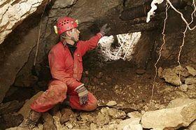 A cave beneath the Mikulov Chateau, photo: CTK
