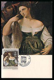 Aseo de la joven, de Tiziano