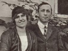 Olga Scheinpflugová et Karel Čapek, photo: Památník Karla Čapka