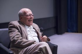 Marcel Ophüls, photo: Site officiel du Festival international du film documentaire de Jihlava