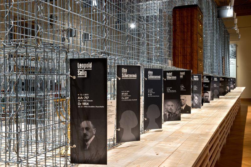 """Ausstellung """"Die Rückgabe der Identität"""" (Foto: Archiv des Prager Kunstgewerbemuseums)"""