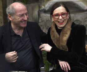 Robert Dornhelm, Zuzana Stivínová, photo: CTK