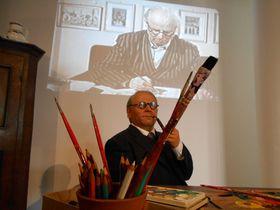 L'exposition de Josef Lada, photo: Eva Turečková