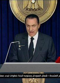 Hosni Mubarak, foto: ČTK