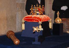 Las joyas de coronación de los Reyes de Bohemia, foto: Tomáš Vodňanský, Radiodifusión Checa